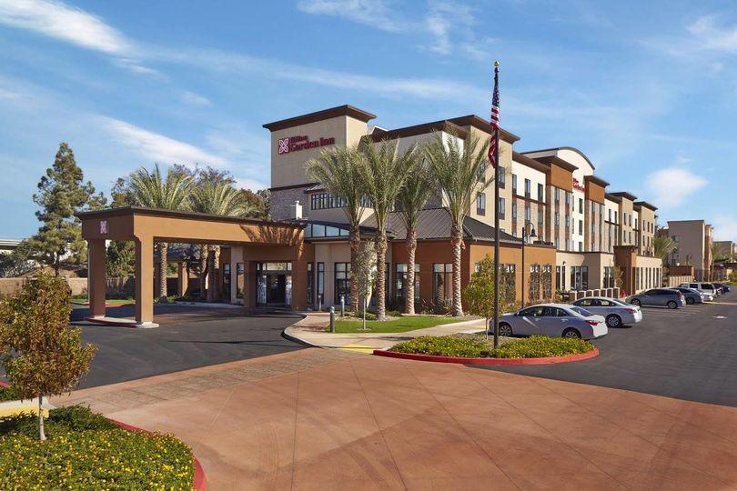 Exterior view of the Hilton Garden Inn Los Angeles/Redondo Beach