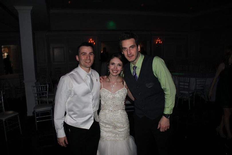 Newlyweds and the DJ