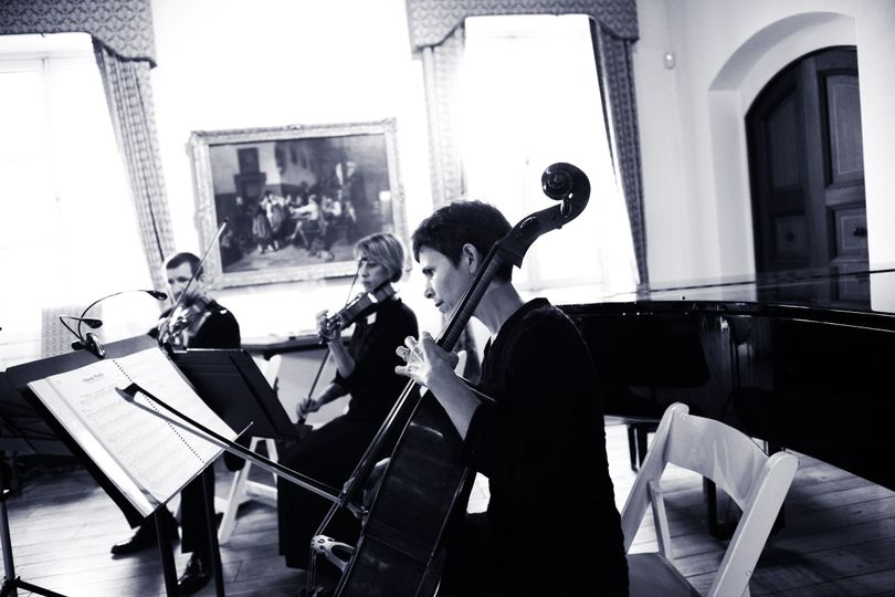 MME String Trio Cocktail Hour at the Villa Terrace Decorative Art Museum (Photo courtesy of Leslie...