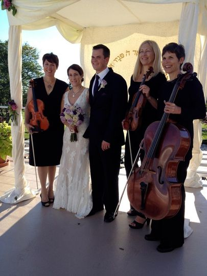MME String Trio Wedding Ceremony at the River Club of Mequon