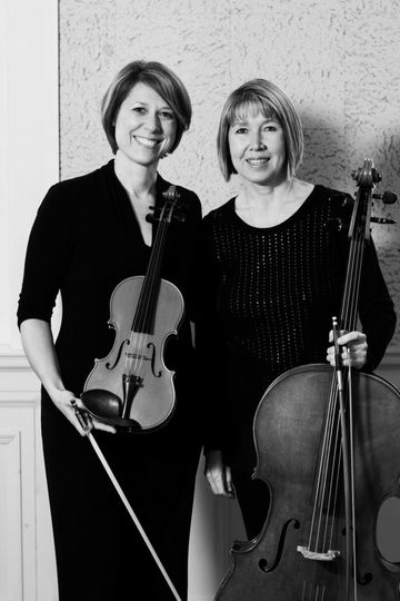 MME String Duo (Photo courtesy of Shannon Z Photography)