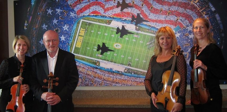 MME String Quartet at Lambeau Field