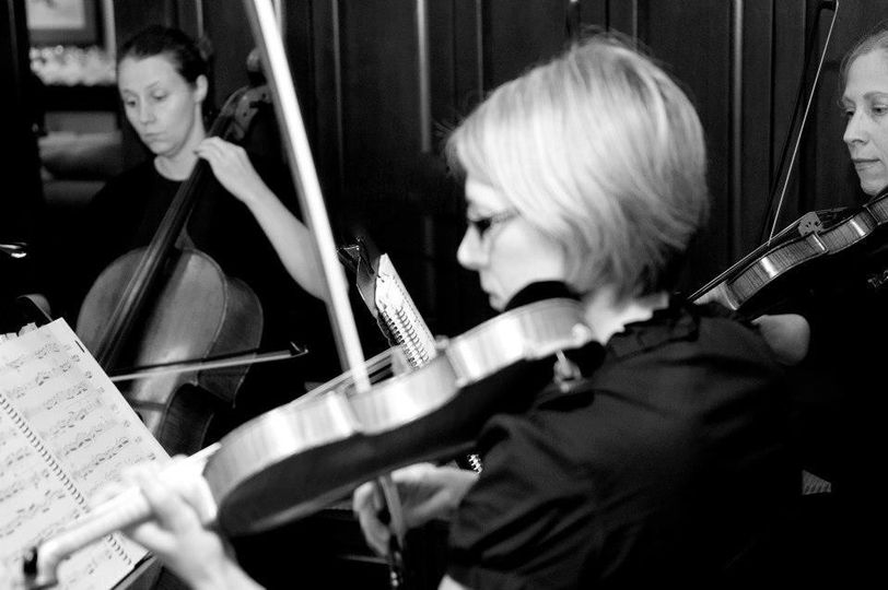 MME String Trio Wedding Ceremony and Cocktail Hour at Erin Hills Golf Course
