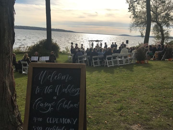 Ceremony at the Heidel House
