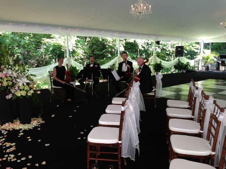 Ceremony at private residence