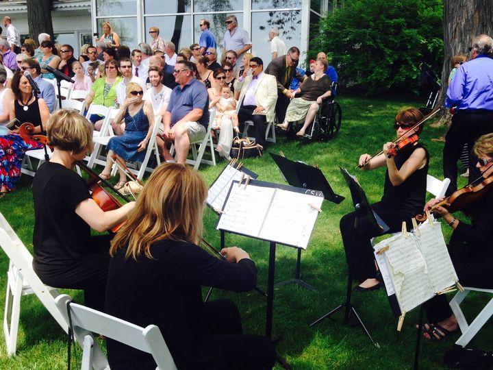 Tmx String Quartet Heidel House 51 473187 Milwaukee, Wisconsin wedding ceremonymusic