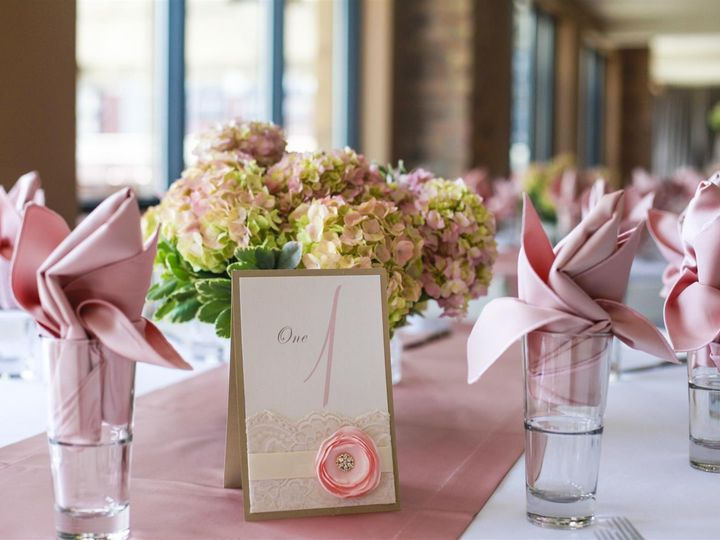 Tmx 1404325686809 Wedding Tablecard Closeup Milwaukee wedding venue