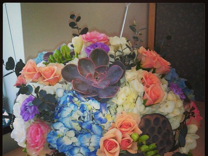 Tmx 1365731628245 S Centerpiece 2013 Petersburg wedding florist
