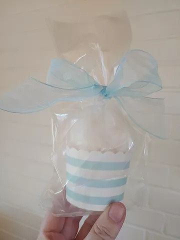 Cotton candy wedding favor