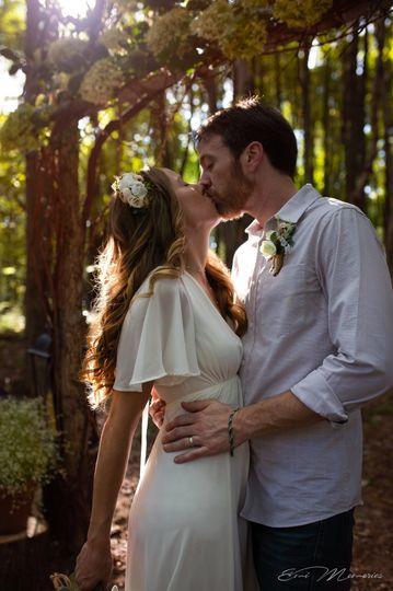 Gorgeous wedding on their Land