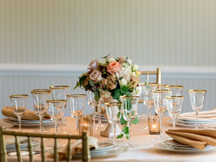Tmx 1482161337519 Livery Room Reception Table Lambertville, NJ wedding venue