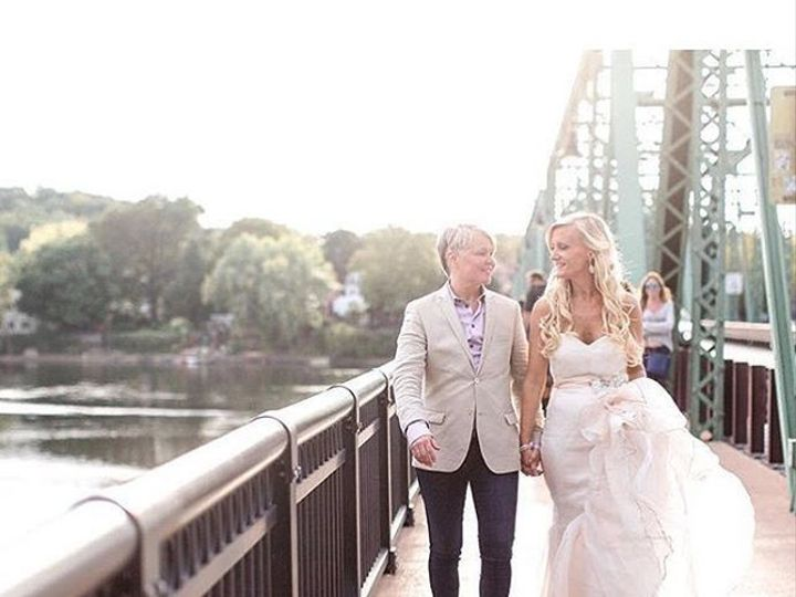 Tmx 1482163283021 Checkouthandhweddingsbeautifulpostofthebridgeandha Lambertville, NJ wedding venue