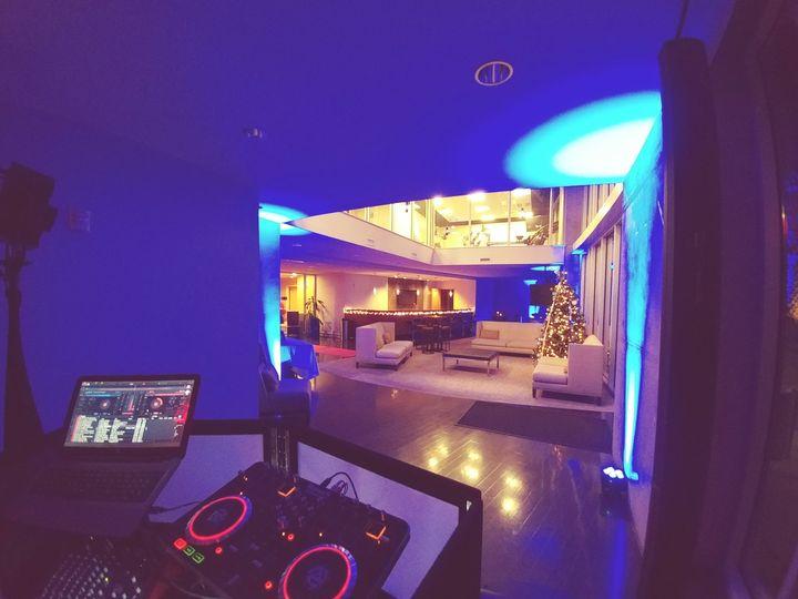 Tampa Blue Up-lighting