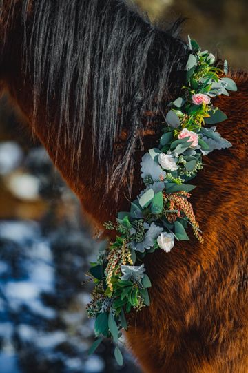 Flower necklace | Zotti