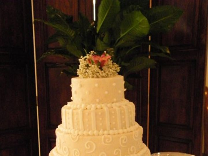 Tmx 1277513153278 WeddingLeporeBaker Fairmont wedding cake