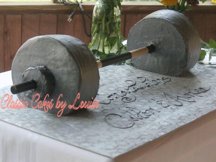 Tmx 1526748205 4fcb0f4b6cb9ec25 1526748203 7f64ea7dd9fba284 1526748078529 6 IMG 7750 Edited Fairmont wedding cake