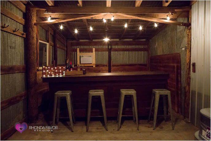 Bar grooms den