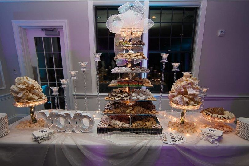 Our grand cookie display!