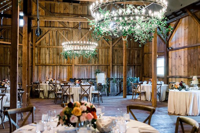 Rustic reception
