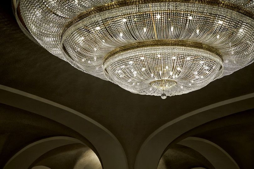 Grand ballroom chandelier