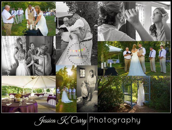 ashley and daniels wedding collage
