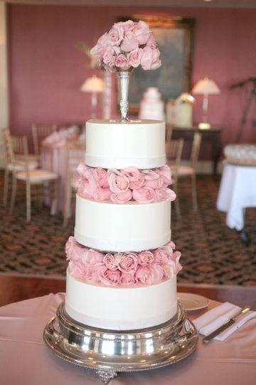 Cake with rose's