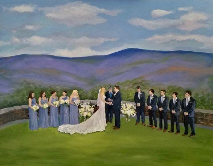 Hildene Wedding, Manchester VT