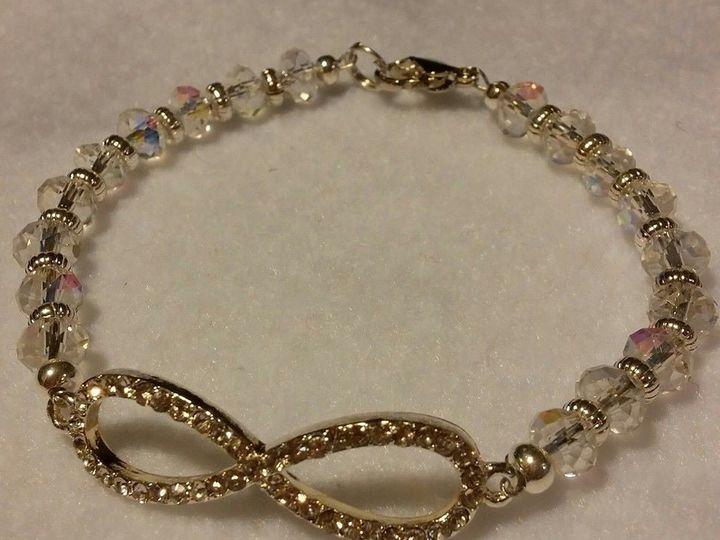 Tmx 1426297871650 Crystal Bracelet Waverly wedding jewelry