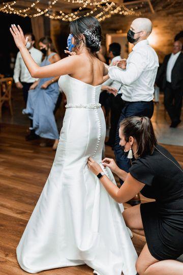 Coordinator Bustling Bride