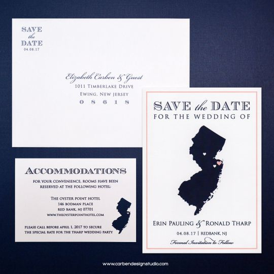 jersey save the date collection