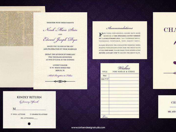 Tmx 1511800751058 Library Wedding Collection Trenton wedding invitation