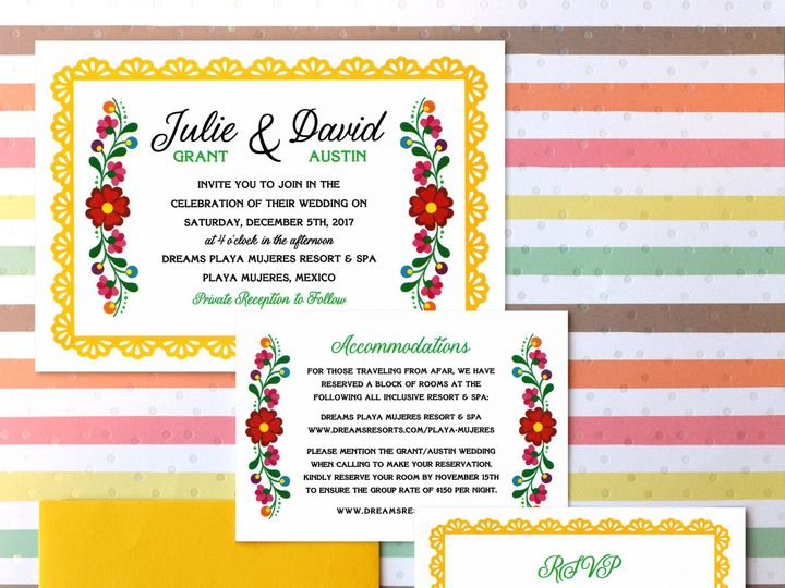 Tmx 1511801001505 Mexican Embroidery Wedding Collection 1 Trenton wedding invitation