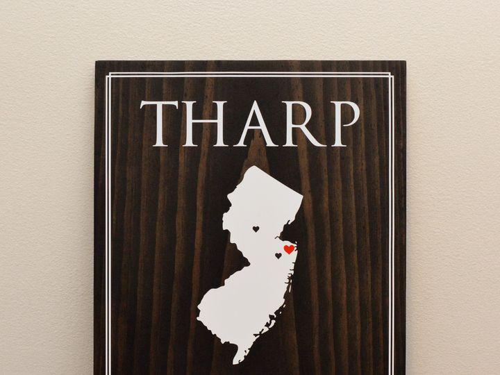 Tmx 1511801556624 State Established Wedding Sign Trenton wedding invitation