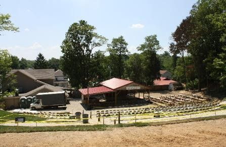 Exterior view of the Indian Creek Tavern