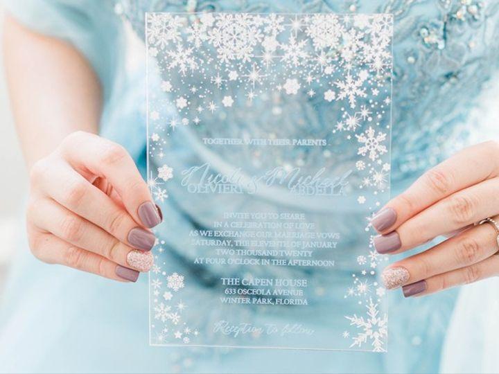 Tmx Acrylicinvite3 51 24287 158836534089486 West Bloomfield, MI wedding florist