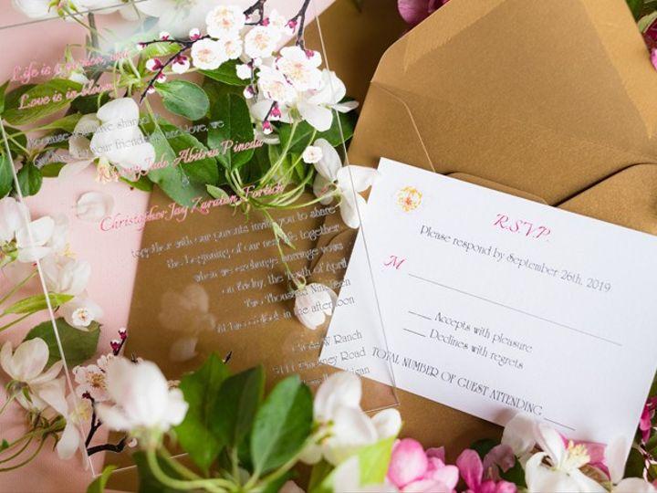 Tmx Acrylicinvite 51 24287 158836534243825 West Bloomfield, MI wedding florist