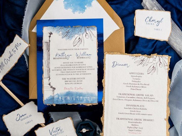 Tmx Greeceinvite 51 24287 158836534278605 West Bloomfield, MI wedding florist