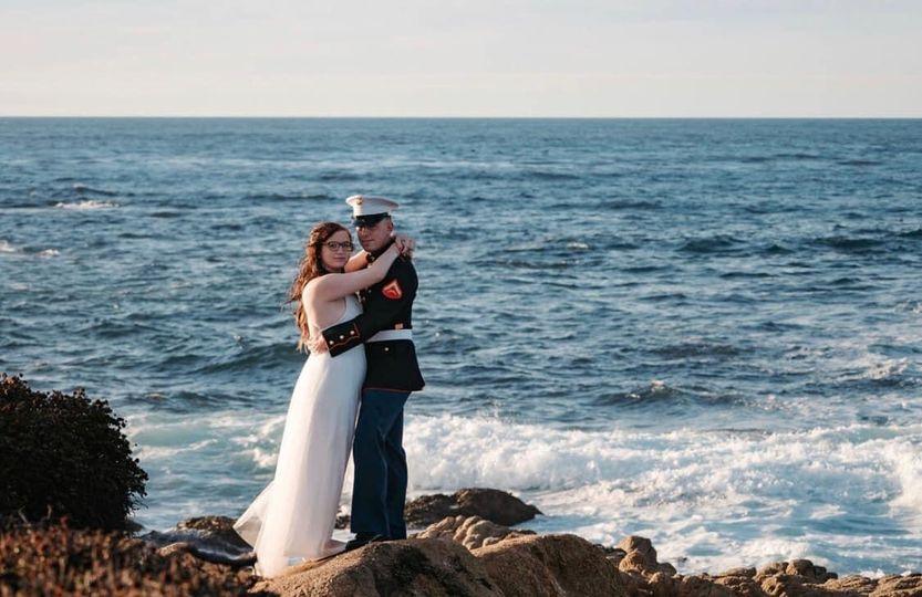 Pebble Beach elopement
