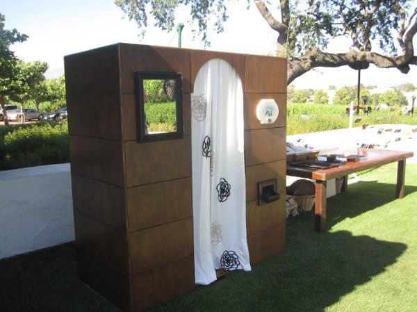 Outdoor photobooth