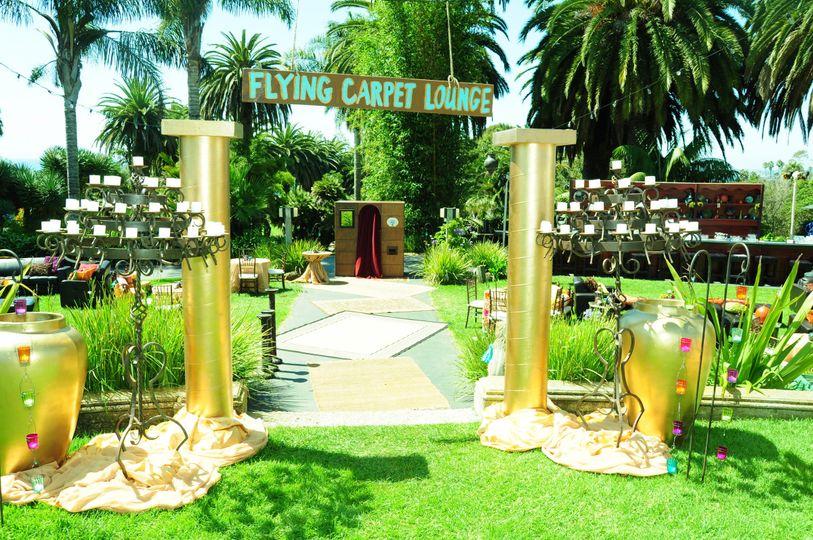 The green gardens