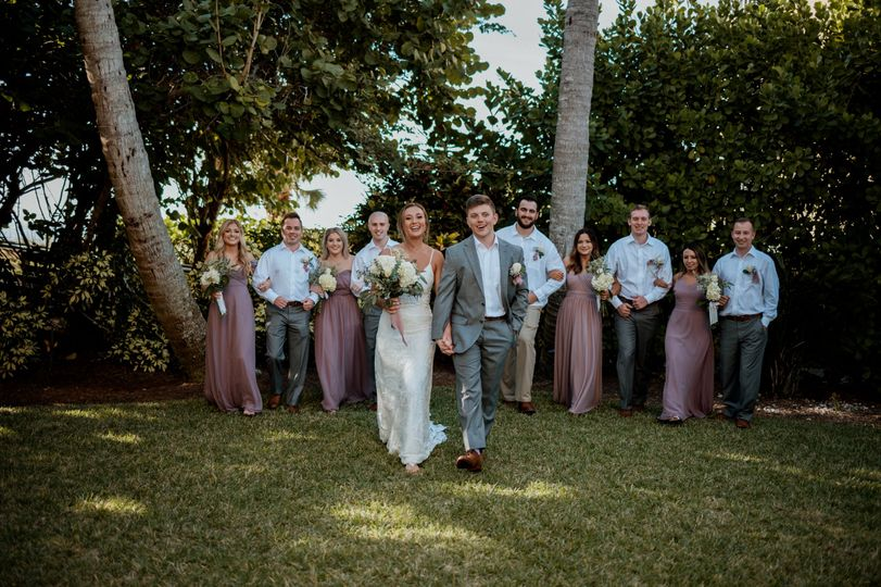 Pink Shell Wedding
