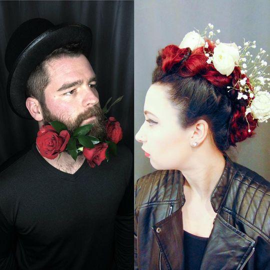Roses photoshoot