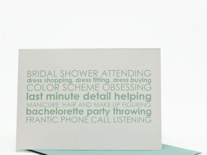 Tmx 1339466621467 CardBMandMOHfrontwithblueenvel600x600 Lees Summit wedding favor
