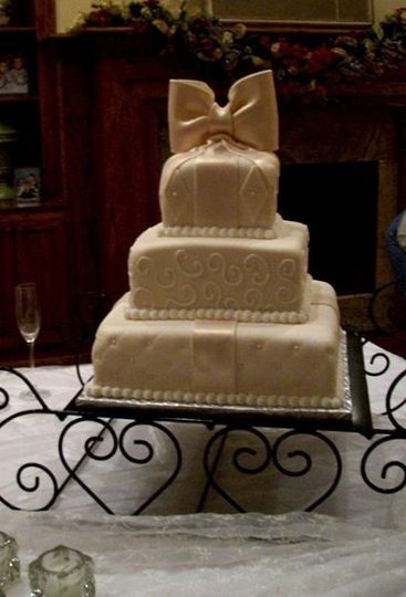 Melissa S Specialty Cakes Wedding Cake Long Beach Ms