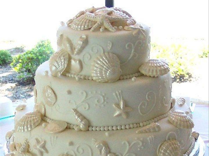 Tmx 1280651342920 SEASHELLBYTHESEA Long Beach wedding cake