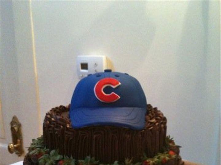 Tmx 1280655367389 Cubshat Long Beach wedding cake
