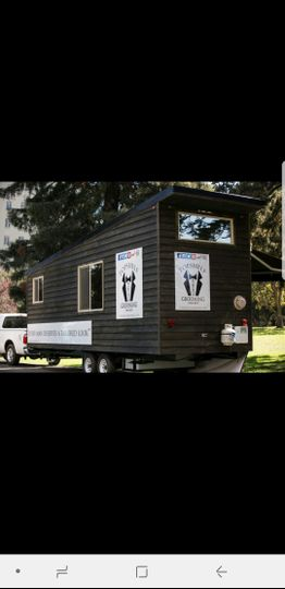Mobile barbershop available throughout the Bay Area.