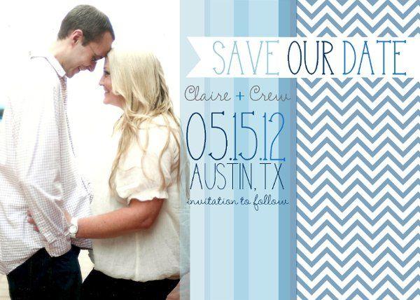 Tmx 1329357435337 ShadesofBlueLovesavethedatemagnet Isle Of Palms wedding invitation
