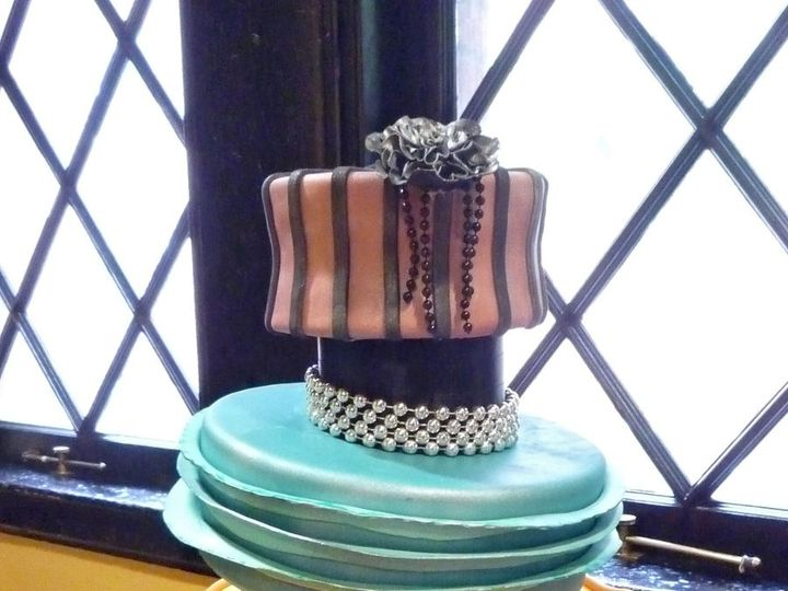 Tmx 1349657386599 Fondant22 Hatboro, Pennsylvania wedding cake