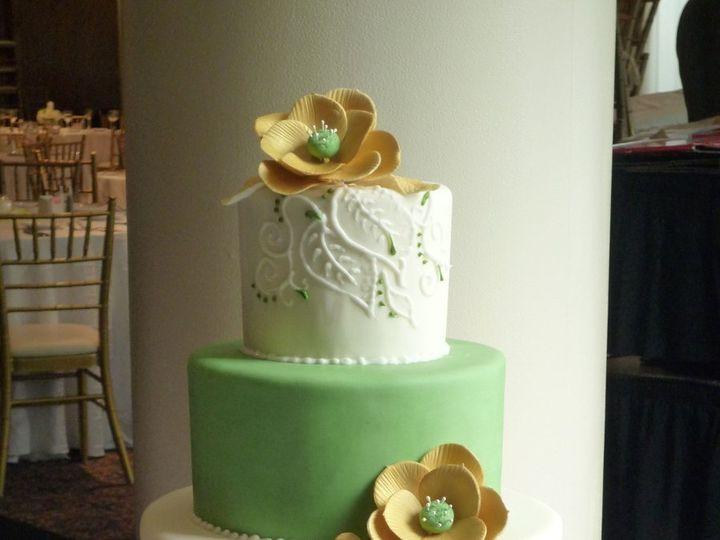 Tmx 1349657394610 Fondant24 Hatboro, Pennsylvania wedding cake